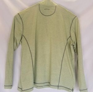Orvis Shirts - Orvis Mens Quarter Zip Light Weight Pullover
